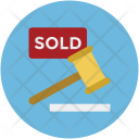 Sold Mallet Auction Icon