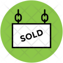Sold Sell Label Icon
