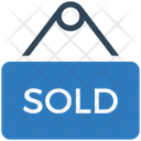 Sold Board Sold Hanging Board Icon