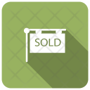 Sold Banner Poster Icon