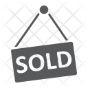 Sold hanging board Icon