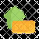 Sold House Estate Icon