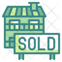 Sold House Sold Home Architecture Icon