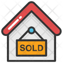 House Board Sign Icon