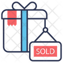 Out Shopping Sold Icon
