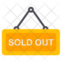 Sold Out Sold Stock Icon
