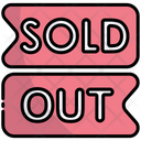Sold Out Out Of Stock Stock Icon