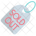 Sold Out Sold Out Of Stock Icon