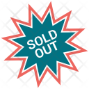 Sold out tag Icon
