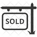 Sold Sign Icon