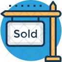 Sold Sign Property Icon