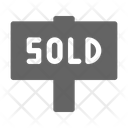 Sold Sign House Icon