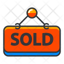 Sold signboard Icon