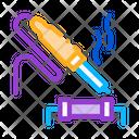 Soldering Iron Solder Icon