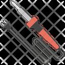 Soldering Iron Hand Tool Welding Equipment Icon