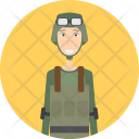 Soldier Character Profession Icon