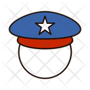 Soldier Army Hat Army Cap Icon