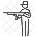 Soldier Watchman Guard Icon