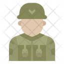 Soldier Military Army Icon