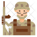 Isoldier Soldier Uniform Icon
