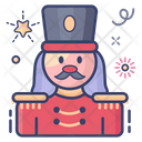 Soldier Hipster Worrier Icon