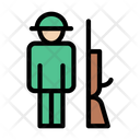 Soldier Army Riffle Icon
