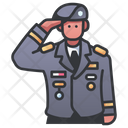 General Soldier Military Icon
