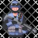Shotgun Police Swat Icon