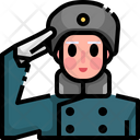 Soldier Girl Soldier Soldier Icon