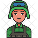 Soldier Army Military Icon