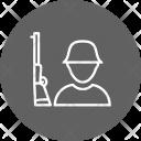 Solider Shotgun Army Icon