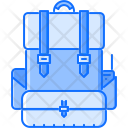 Soldier Backpack Military Icon