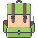 Soldier Backpack War Icon
