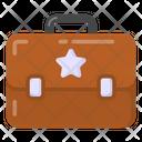 Soldier Briefcase Icon