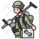 Soldier Engineer Icon