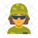 Soldier female Icon