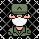 Soldier Avatar Man Icon