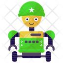Soldier Robot Warrior Robot Military Robot Icon