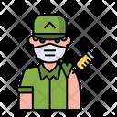 Soldier Vaccination Icon