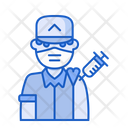 Soldier Vaccination Army Soldier Icon