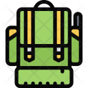 Soldiers Backpack Army Icon