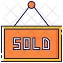 Sold Out Sign Icon