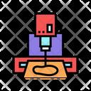 Sole Cut Machine Icon