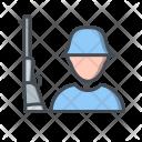 Army Military Shotgun Icon