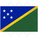 Flag Country Solomon Islands Icon