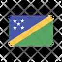 Solomon Islands Flag Country Icon