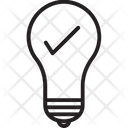 Solution Bulb Invention Icon