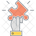 Puzzle Strategy Planning Icon