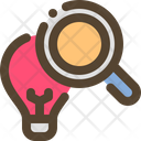 Search Solution Bulb Icon