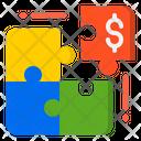 Jigsaw Money Piece Icon